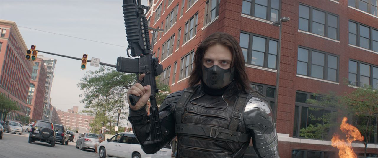 Captain America, le soldat de l'hiver : Photo Sebastian Stan