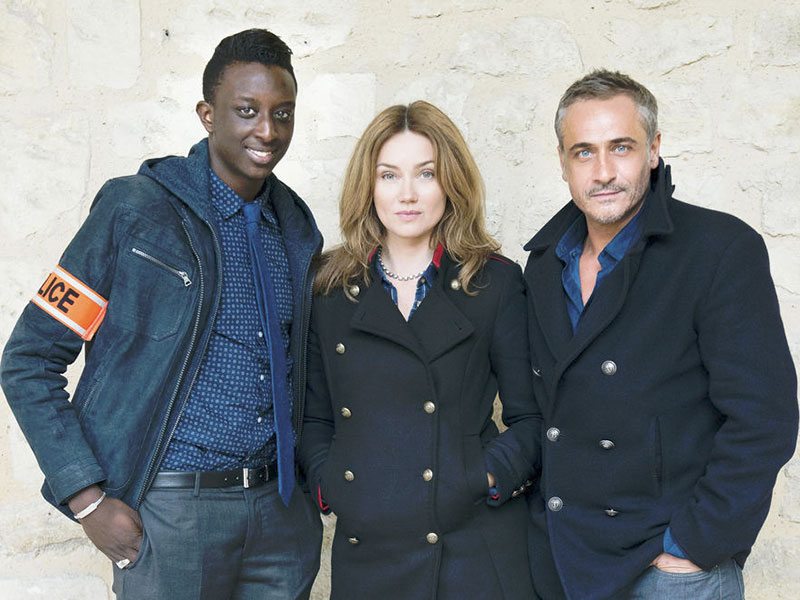 Photo Ahmed Sylla, Jean-Michel Tinivelli, Marine Delterme