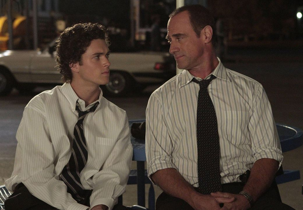Photo Christopher Meloni, Connor Buckley