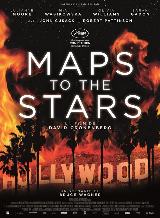 Maps To The Stars : Affiche