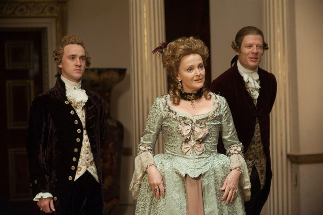 Belle : Photo James Norton, Miranda Richardson, Tom Felton