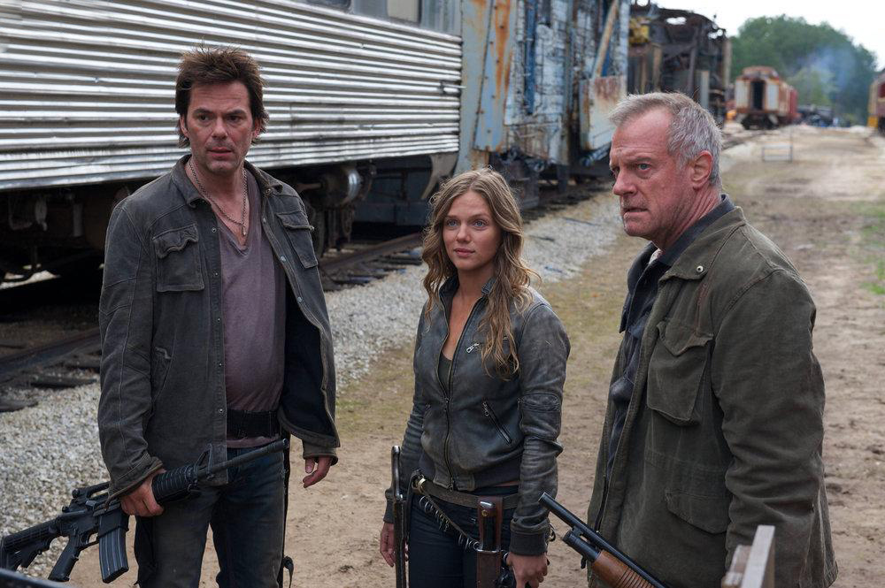 Photo Billy Burke, Stephen Collins, Tracy Spiridakos