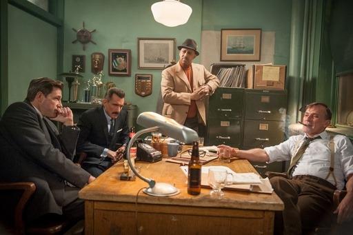 Photo Edward Burns, Robert Knepper, Ruben Santiago-Hudson, Wass Stevens