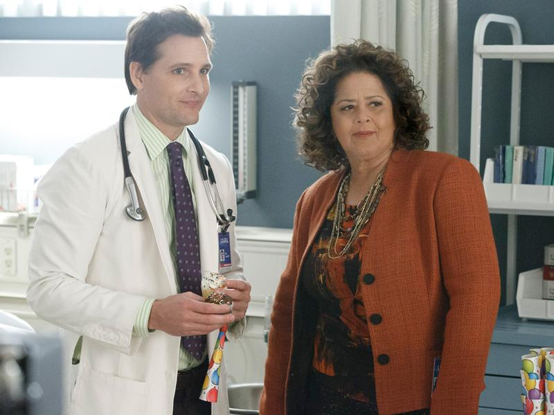 Photo Anna Deavere Smith, Peter Facinelli