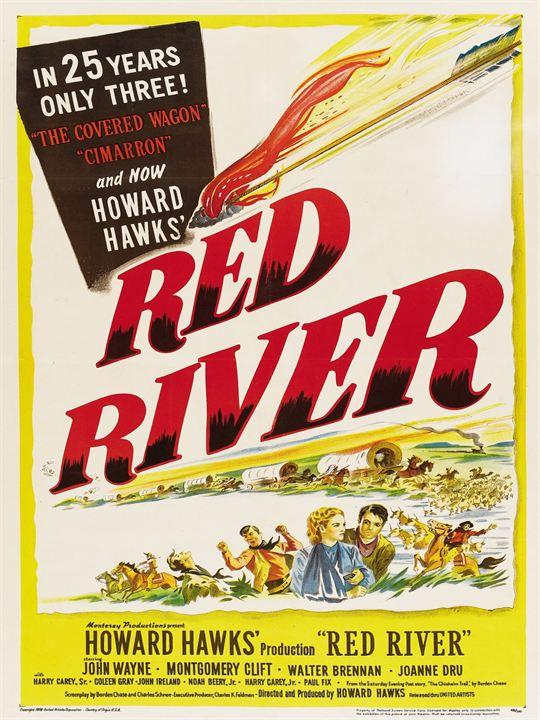 La Rivière rouge : Affiche