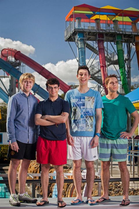 The Inbetweeners 2 : Photo Blake Harrison, James Buckley, Joe Thomas (XIX), Simon Bird