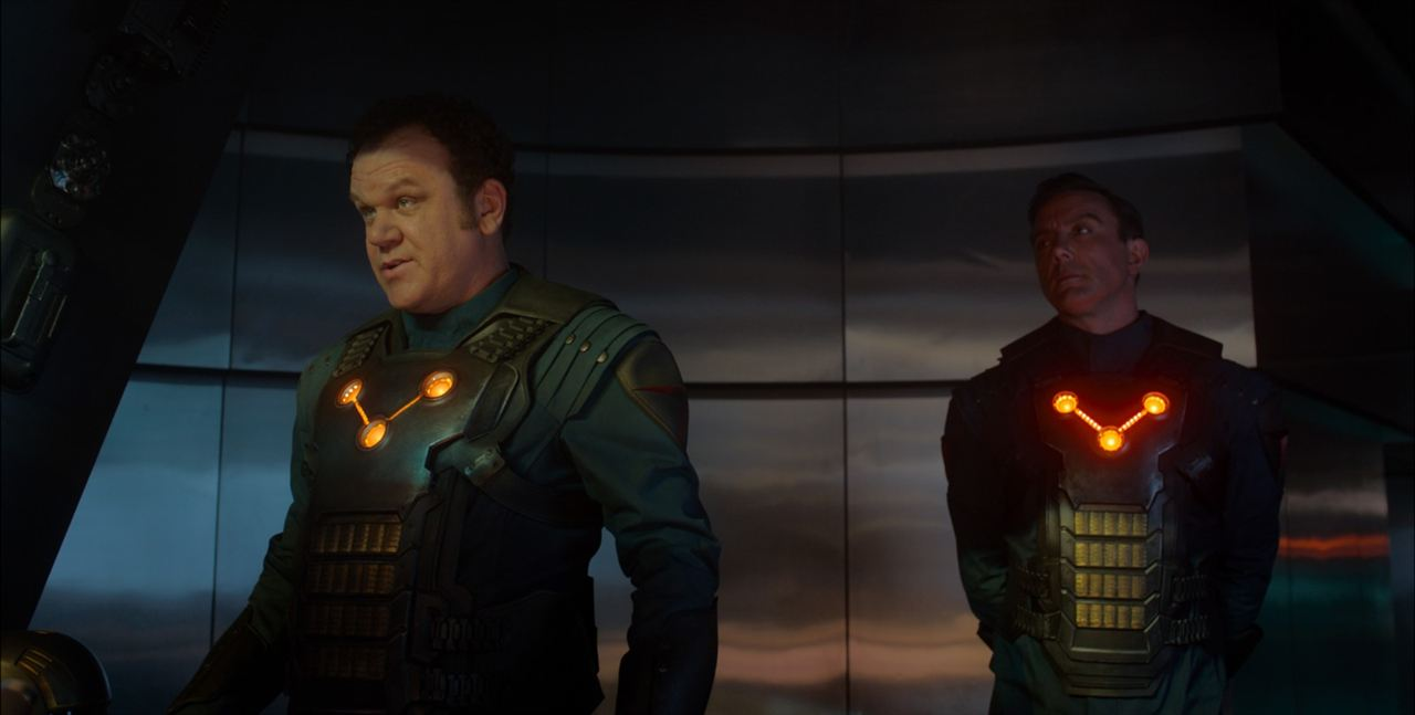 Les Gardiens de la Galaxie : Photo John C. Reilly, Peter Serafinowicz