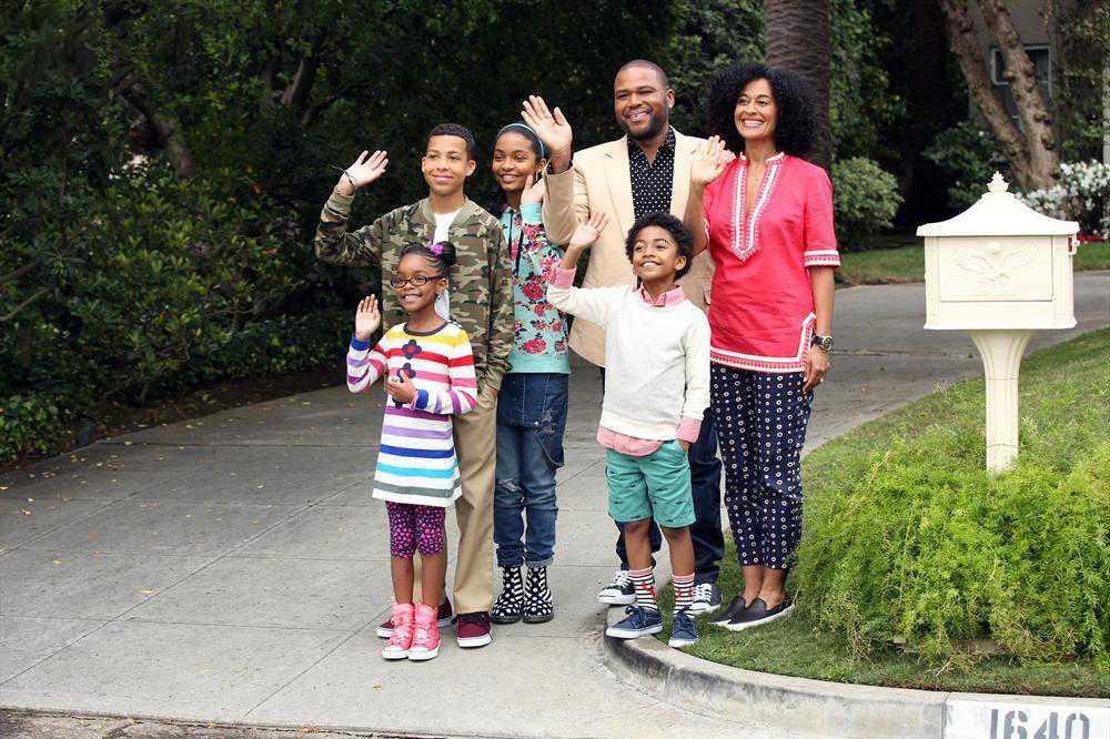 Photo Anthony Anderson, Marcus Scribner, Marsai Martin, Miles Brown, Tracee Ellis Ross