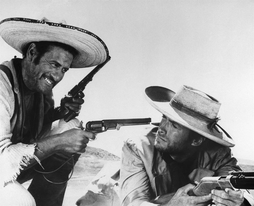 Le Bon, la brute et le truand : Photo Clint Eastwood, Eli Wallach