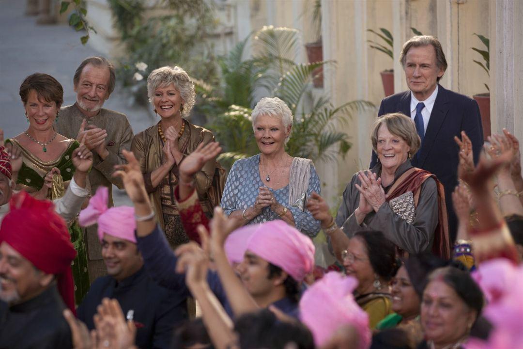 Indian Palace - Suite royale : Photo Bill Nighy, Celia Imrie, Diana Hardcastle, Judi Dench, Maggie Smith