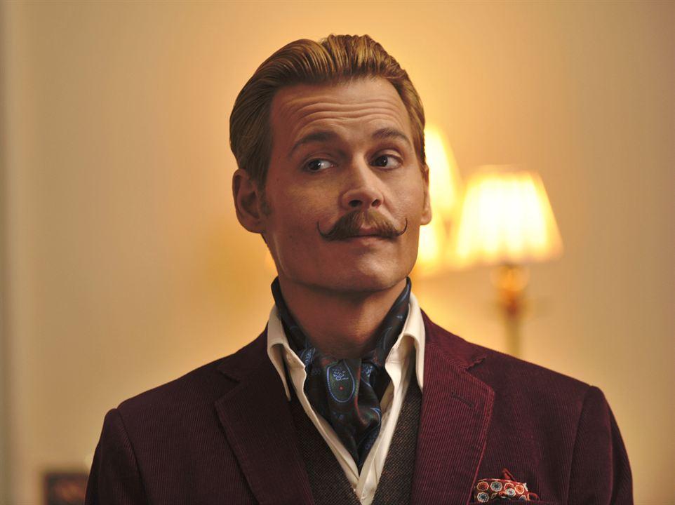 Charlie Mortdecai : Photo Johnny Depp