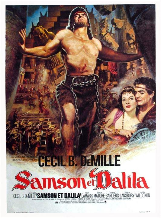 Samson and Dalila : Affiche