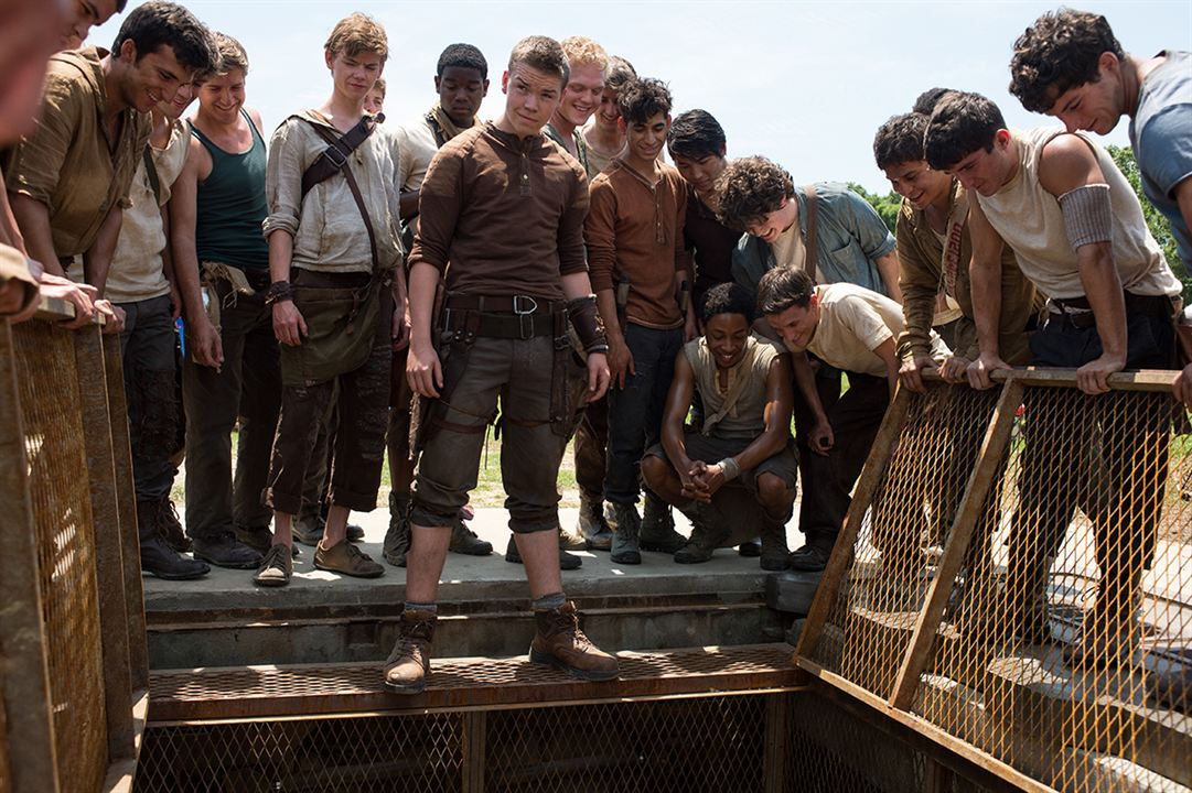 Le Labyrinthe : Photo Thomas Brodie-Sangster, Will Poulter
