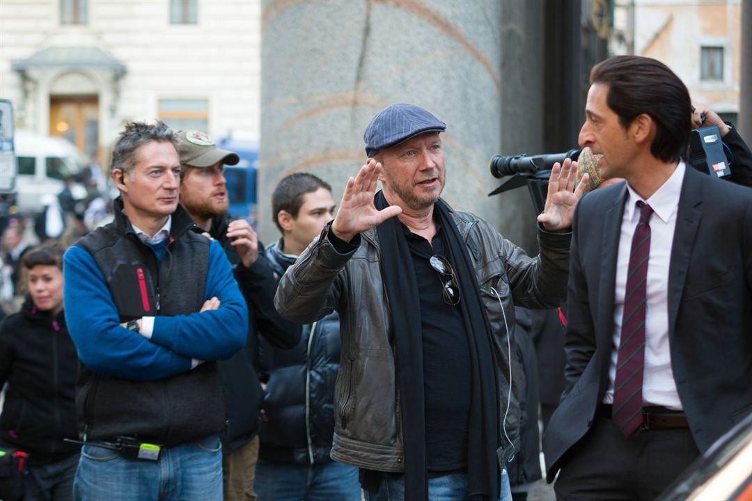Puzzle : Photo Adrien Brody, Paul Haggis
