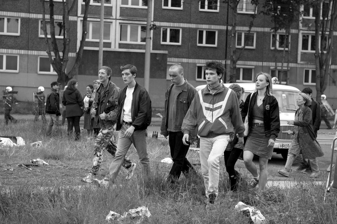 Photo Jakob Bieber, Joel Basman, Jonas Nay, Saskia Rosendahl