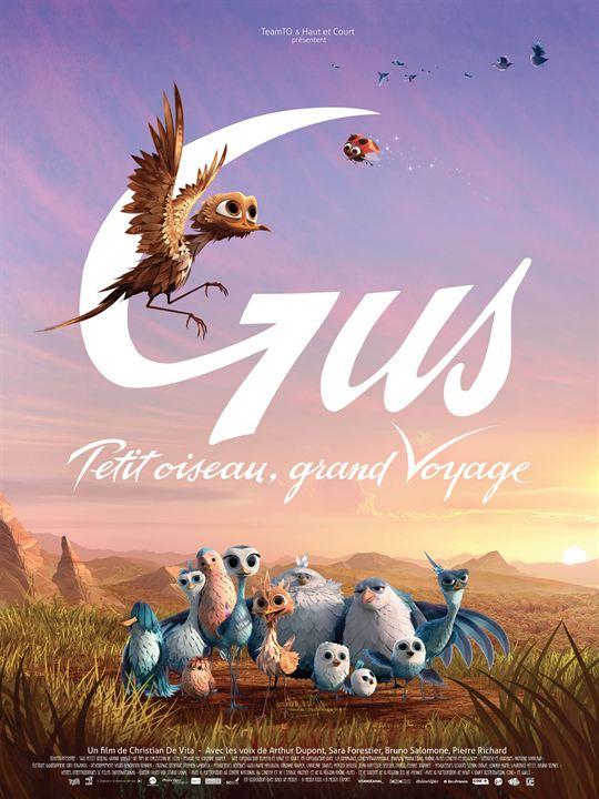 Gus petit oiseau, grand voyage : Affiche