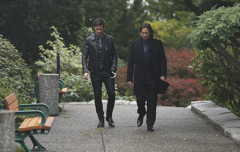 Photo Colin O'Donoghue, Robert Carlyle