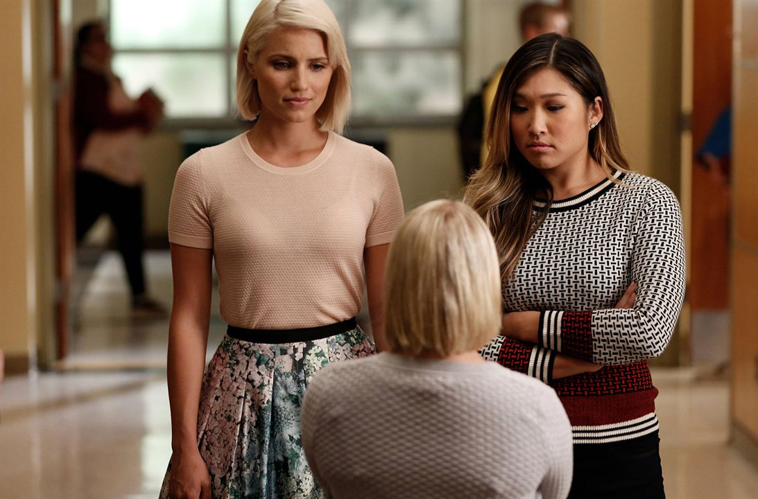Photo Dianna Agron, Jenna Ushkowitz