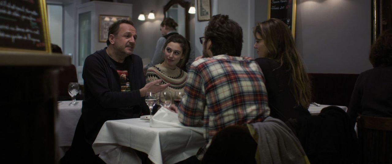 Arnaud fait son 2ème film : Photo Arnaud Viard, Louise Coldefy