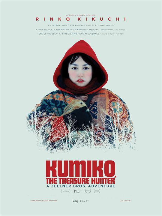 Kumiko, the Treasure Hunter : Affiche