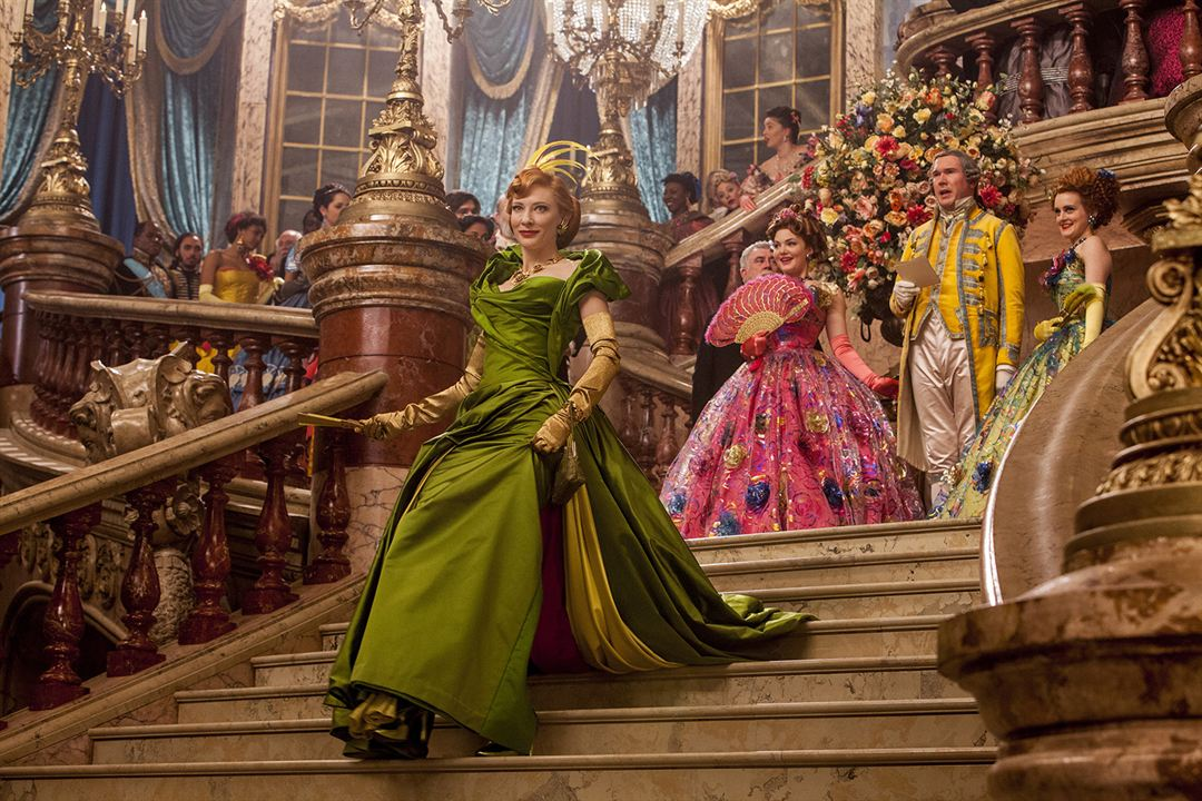 Cendrillon : Photo Cate Blanchett, Holliday Grainger, Sophie McShera