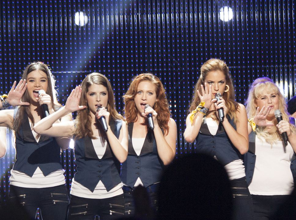 Pitch Perfect 2 : Photo Alexis Knapp, Anna Kendrick, Hailee Steinfeld, Rebel Wilson