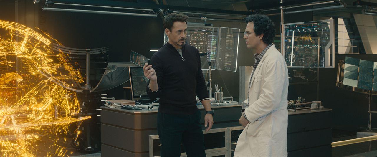 Avengers : L'ère d'Ultron : Photo Mark Ruffalo, Robert Downey Jr.