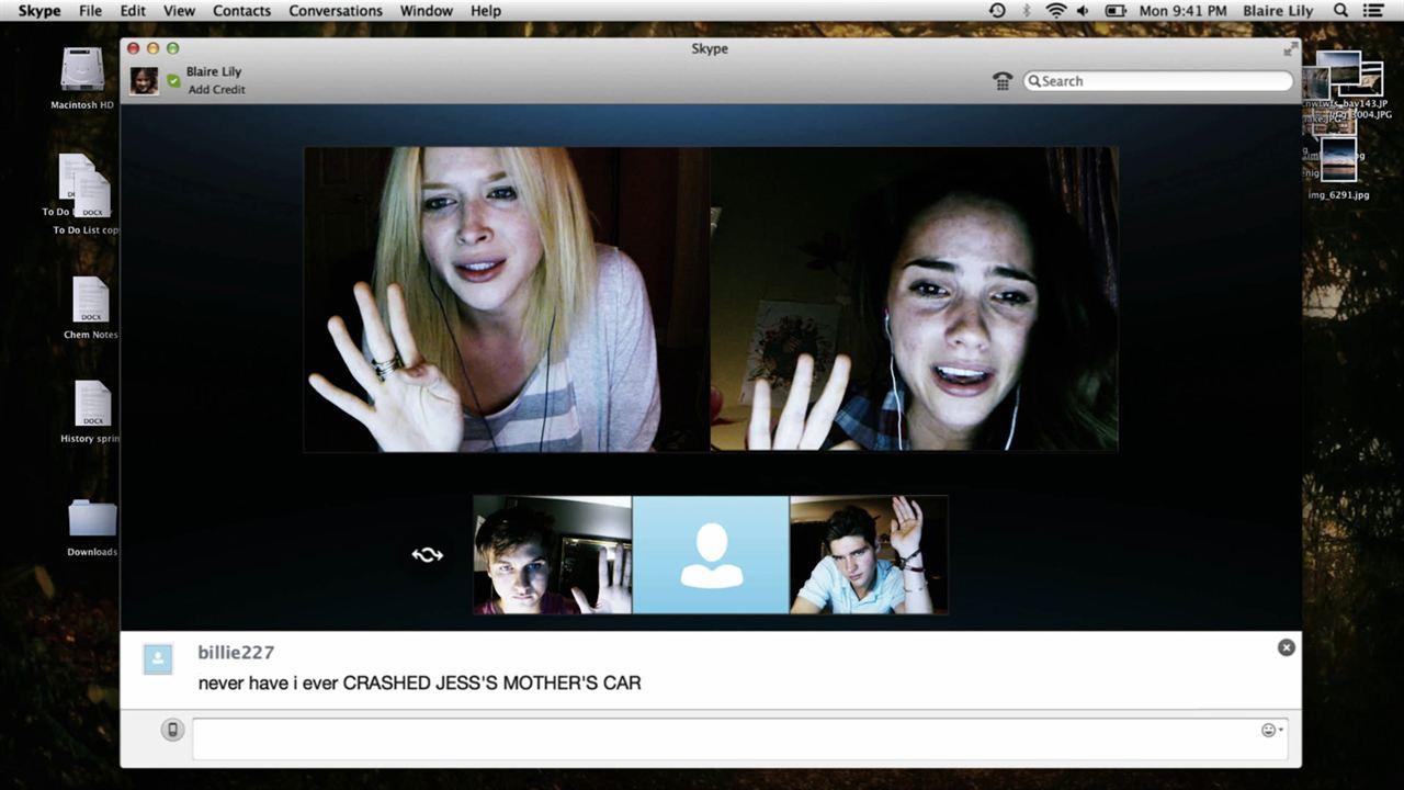 Unfriended : Photo Moses Storm, Renee Olstead, Shelley Hennig, Will Peltz