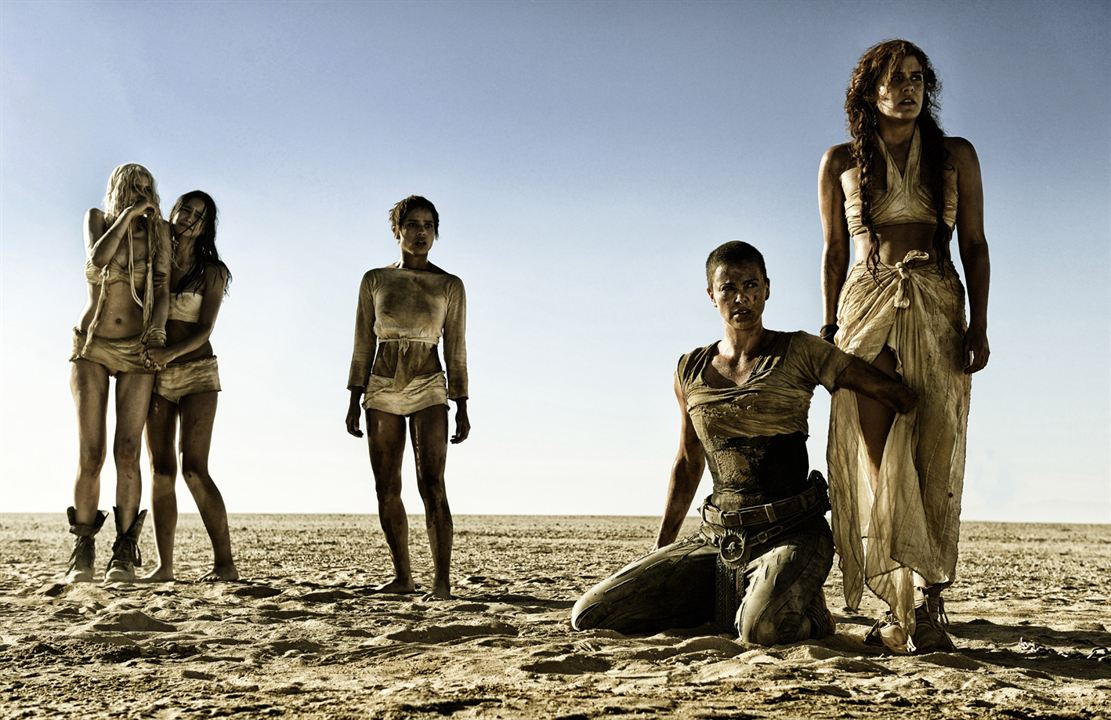 Mad Max: Fury Road : Photo Abbey Lee, Charlize Theron, Courtney Eaton, Riley Keough, Zoë Kravitz