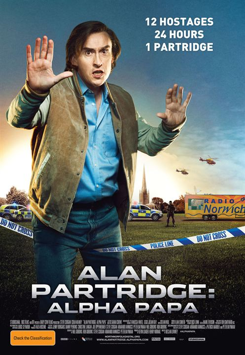 Alan Partridge: Alpha Papa : Affiche