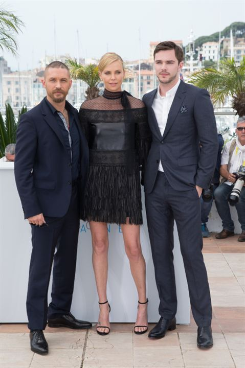 Mad Max: Fury Road : Photo promotionnelle Charlize Theron, Nicholas Hoult, Tom Hardy