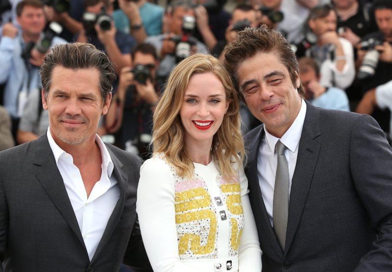 Sicario : Photo promotionnelle Benicio Del Toro, Emily Blunt, Josh Brolin