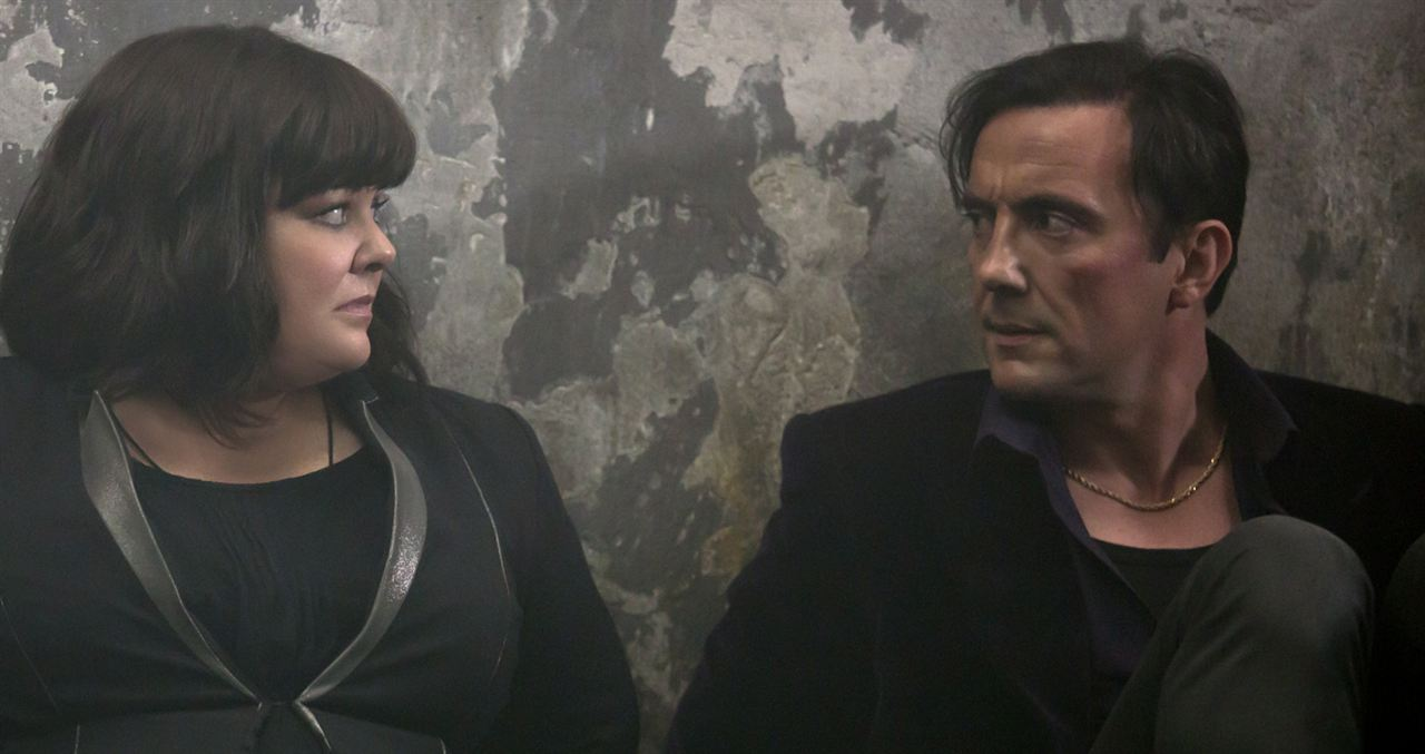 Spy : Photo Melissa McCarthy, Peter Serafinowicz