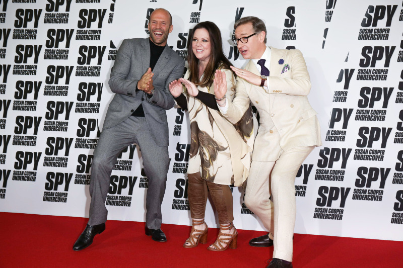 Spy : Photo promotionnelle Jason Statham, Melissa McCarthy, Paul Feig