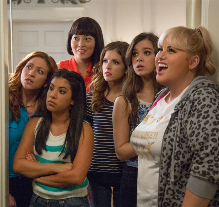 Pitch Perfect 2 : Photo Anna Kendrick, Chrissie Fit, Hailee Steinfeld, Hana Mae Lee, Rebel Wilson