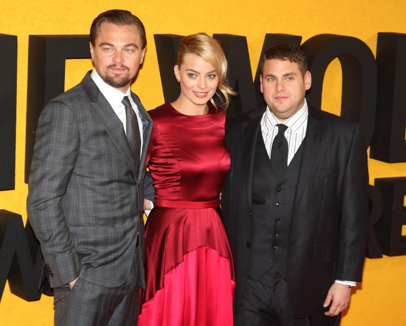 Le Loup de Wall Street : Photo promotionnelle Jonah Hill, Leonardo DiCaprio, Margot Robbie