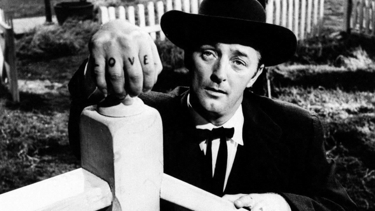 La Nuit du chasseur : Photo Robert Mitchum