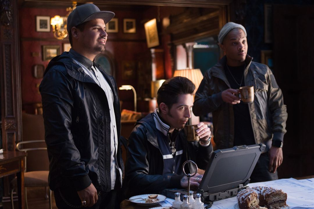 Ant-Man : Photo David Dastmalchian, Michael Peña, T.I.