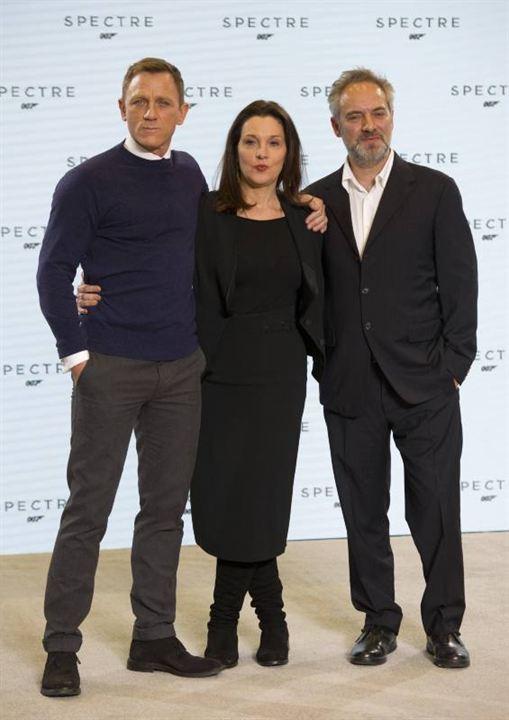 007 Spectre : Photo promotionnelle Barbara Broccoli, Daniel Craig, Sam Mendes