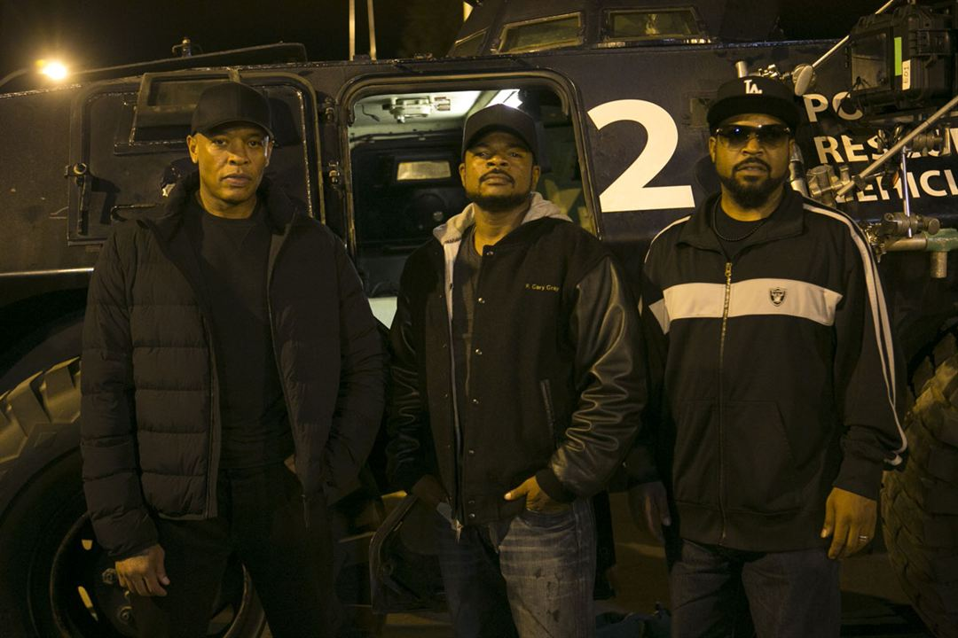N.W.A - Straight Outta Compton : Photo Dr. Dre, Ice Cube