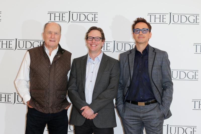 Le Juge : Photo promotionnelle David Dobkin, Robert Downey Jr.