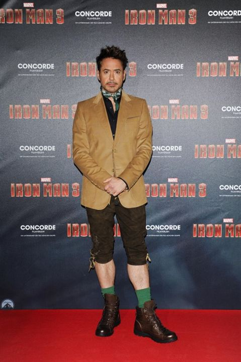 Iron Man 3 : Photo promotionnelle Robert Downey Jr.