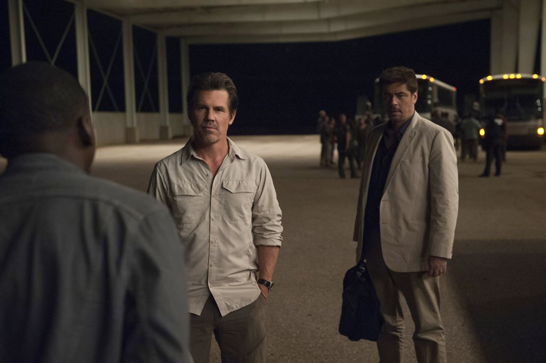 Sicario : Photo Benicio Del Toro, Josh Brolin