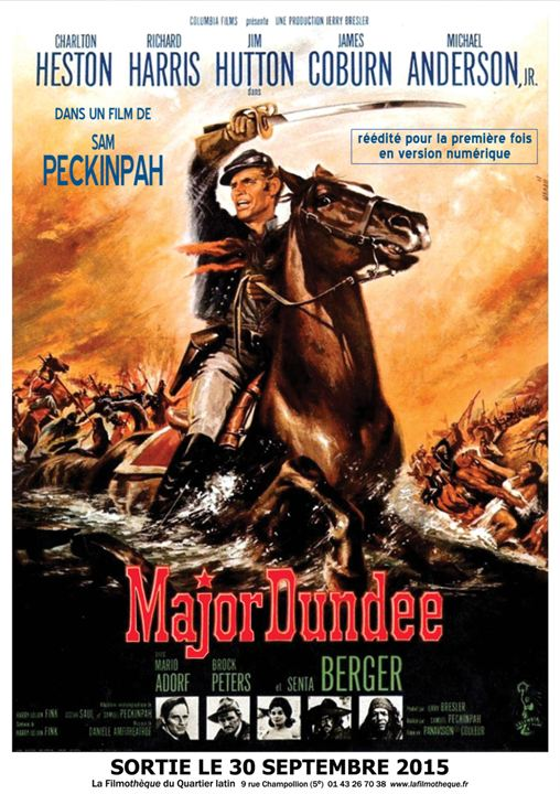 Major Dundee : Affiche