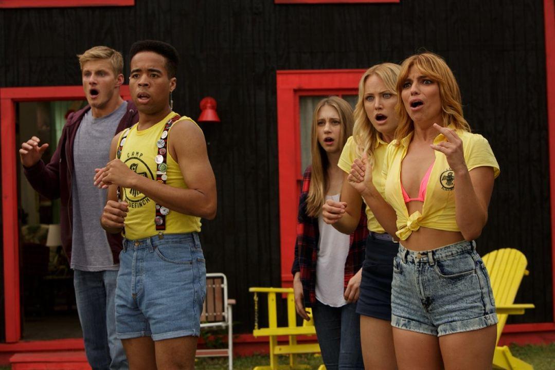 Scream Girl : Photo Alexander Ludwig, Angela Trimbur, Malin Åkerman, Taissa Farmiga, Tory N. Thompson