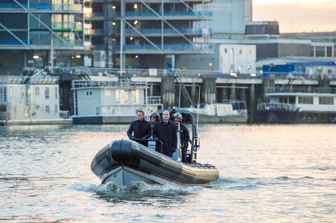 007 Spectre : Photo Daniel Craig, Rory Kinnear