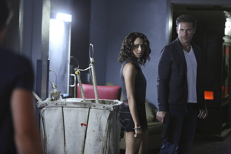 Photo Kat Graham, Matthew Davis