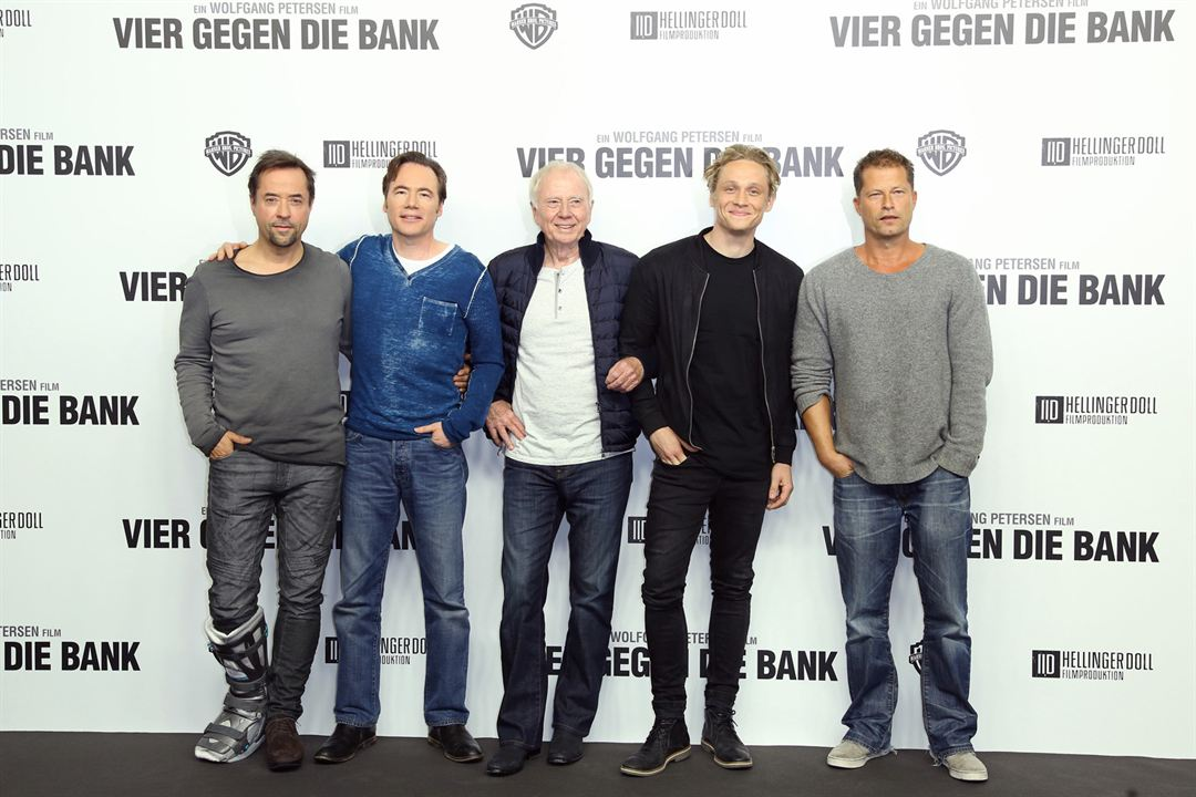 Braquage à l'allemande : Photo promotionnelle Jan Josef Liefers, Matthias Schweighöfer, Michael Bully Herbig, Til Schweiger, Wolfgang Petersen