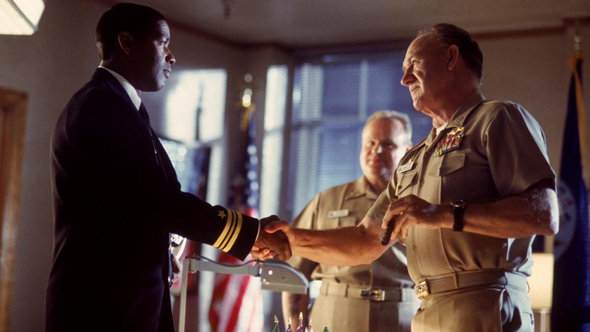 USS Alabama : Photo Denzel Washington, Gene Hackman