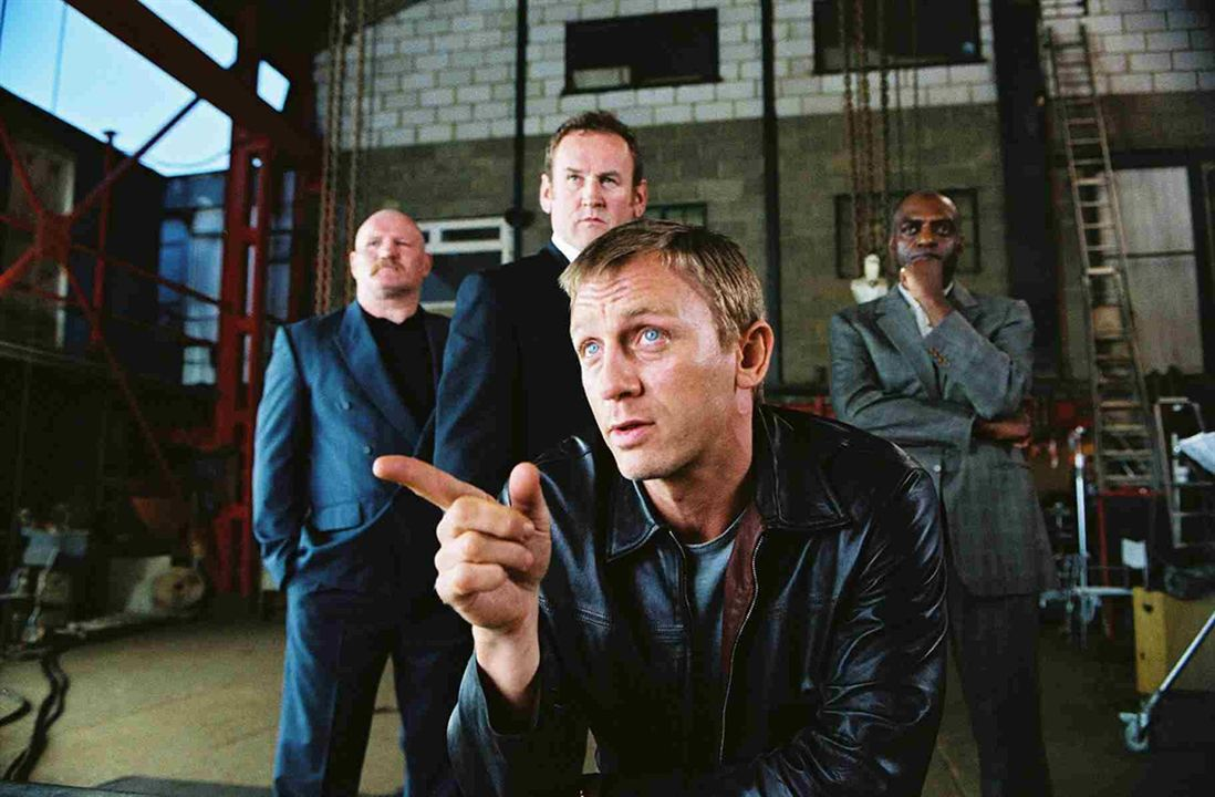 Layer Cake : Photo Colm Meaney, Daniel Craig, George Harris